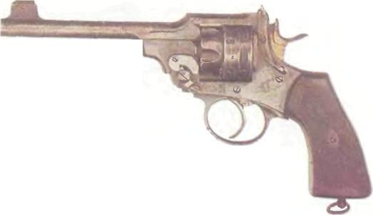 Великобритания: револьвер ВЕБЛЕЙ-СКОТТ МК VI калибра .22 - фото, описание, характеристики, история