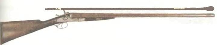 Великобритания: ружье ДВУСТВОЛЬНОЕ ХИЛЛ 10-го КАЛИБРА - фото, описание, характеристики, история