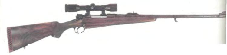 Великобритания: винтовка МАГАЗИННАЯ ХОЛЛАНД И ХОЛЛАНД - фото, описание, характеристики, история