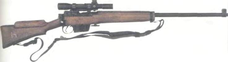 Великобритания: винтовка СНАЙПЕРСКАЯ L42A1 - фото, описание, характеристики, история