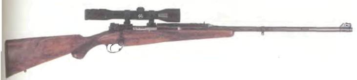 Великобритания: винтовка МАГАЗИННАЯ Х0ЛЛАНД И ХОЛЛАНД калибра .264 - фото, описание, история