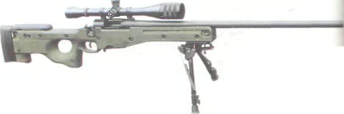 Великобритания: винтовка СНАЙПЕРСКАЯ ЭКЬЮРАСИ ИНТЕРНЭШНЛ L95A1 - фото, описание, история