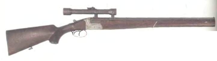 Германия: винтовка ДВУСТВОЛЬНАЯ БРАТЬЕВ МЕРКЕЛЬ - фото, описание, характеристики, история