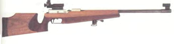 Германия: винтовка ВАЛЬТЕР UIT BV УНИВЕРСАЛ - фото, описание, характеристики, история