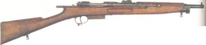 Италия: винтовка АВТОМАТИЧЕСКАЯ ЧЕИ-РИГОТТИ - фото, описание, характеристики, история