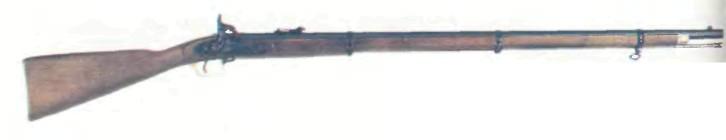 Италия: винтовка КАПСЮЛЬНАЯ ВИНТОВКА ЭНФИЛД ПАТТЕРН 1853 (копия) - фото, описание, история