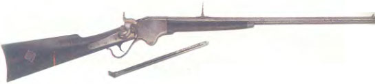 США: винтовка МАГАЗИННАЯ СПЕНСЕРА - фото, описание, характеристики, история