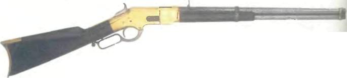 США: винтовка ВИНЧЕСТЕРА, МОДЕЛЬ 1866 - фото, описание, характеристики, история