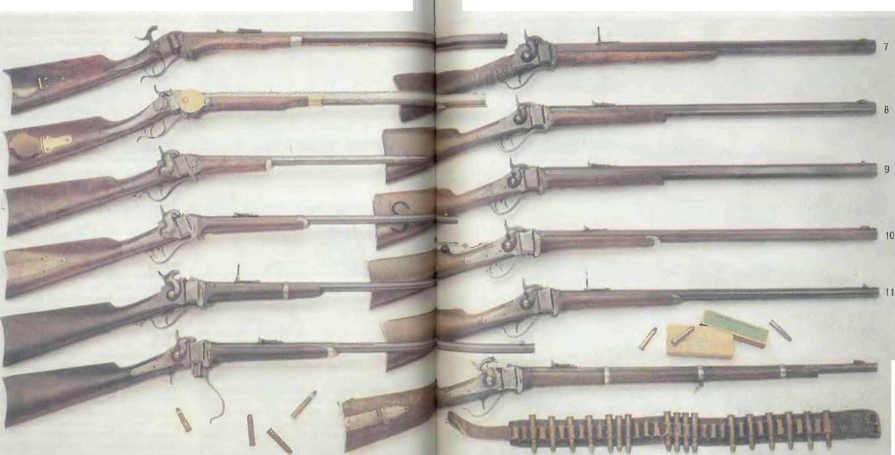 США: винтовки ШАРПСА - фото, описание, характеристики, история