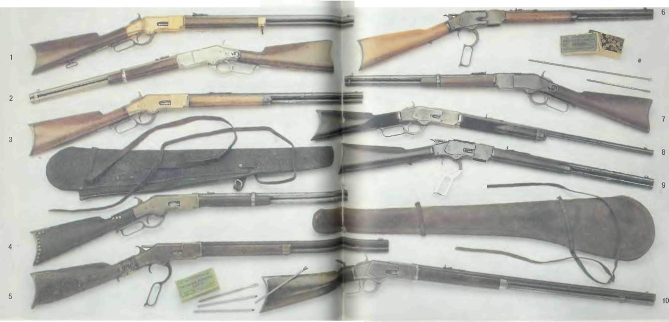 США: винтовки ВИНЧЕСТЕРА 1866-1873 ГОДОВ - фото, описание, характеристики, история