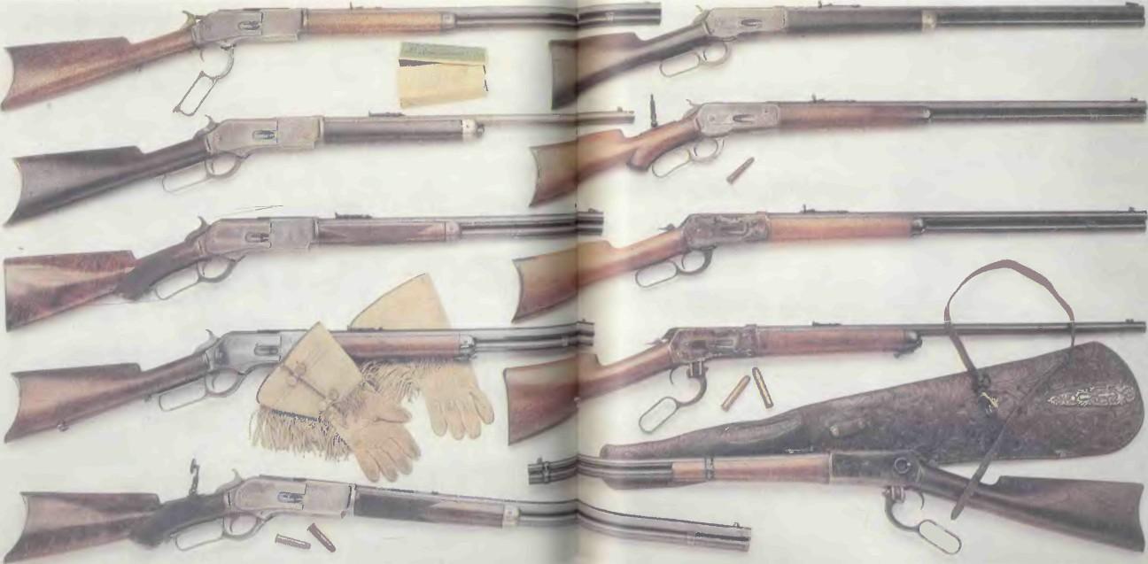 США: винтовки ВИНЧЕСТЕРА 1876-1886 годов - фото, описание, характеристики, история