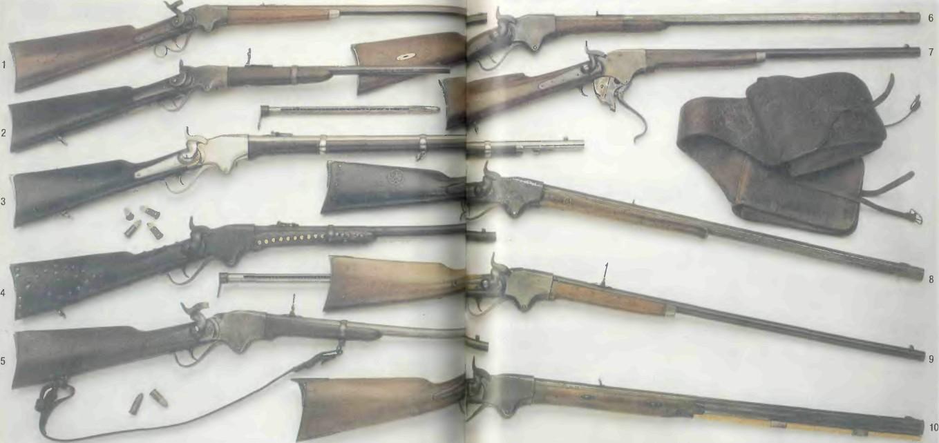 США: винтовки и карабины СПЕНСЕРА - фото, описание, характеристики, история