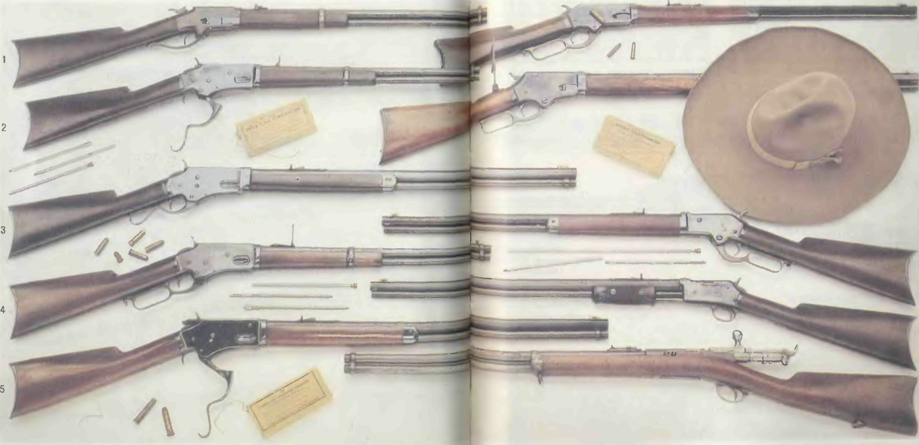 США: винтовки БЕРГЕСС-УИТНИ - фото, описание, характеристики, история