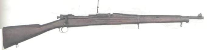 США: винтовка СПРИНГФИЛД, МОДЕЛЬ 1903 - фото, описание, характеристики, история