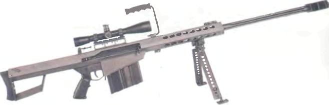 США: винтовка БАРРЕТ, МОДЕЛЬ 82А1 ЛАЙТ ФИФТИ - фото, описание, характеристики, история