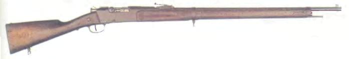Франция: винтовка ЛЕБЕЛЯ, МОДЕЛЬ 1886 - фото, описание, характеристики, история